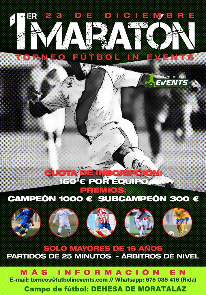 Torneo Maratón Futbol IN Events