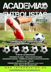 Cartel Academia Madrid Fútbol In Cup