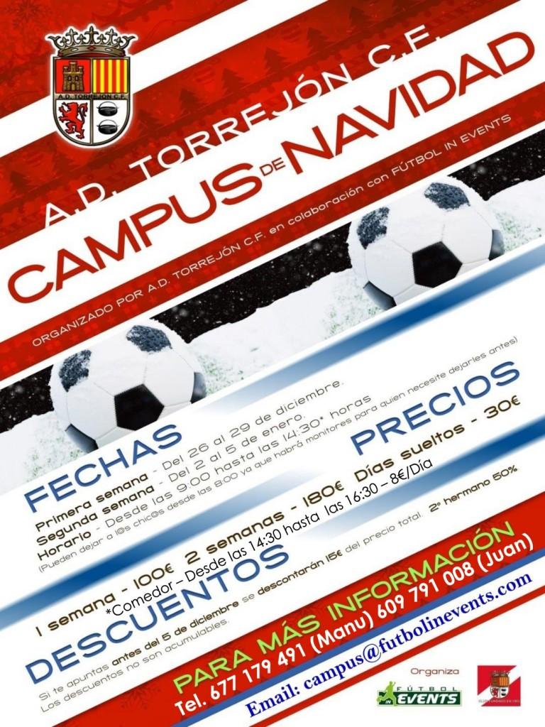 Cartel Campus Navidad Torrejon definitivo