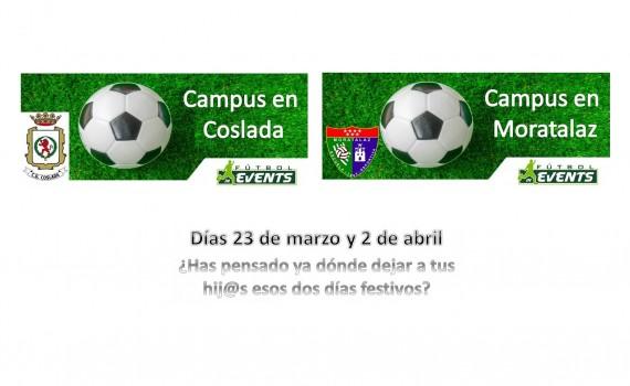 Cartel Campus Fútbol In Events