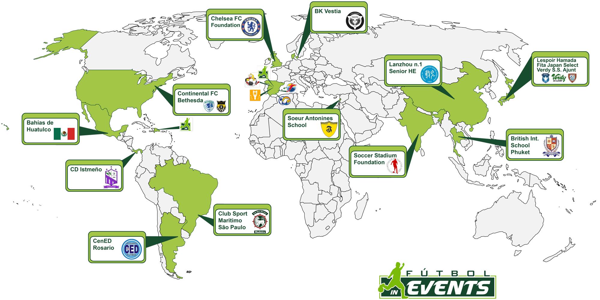 Futbol In Events Internacional
