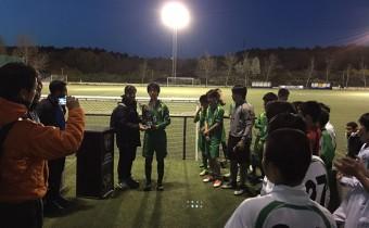 Entrega de trofeos Fútbol In Cup