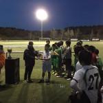 El Ayunt Verdy recibe el trofeo de subcampeón