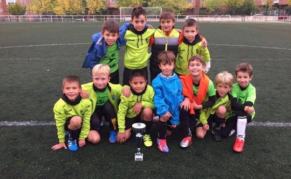 San Blas campeón Fútbol In Cup Octubre