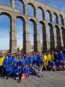 CDE Lugo Fuenlabrada en Segovia