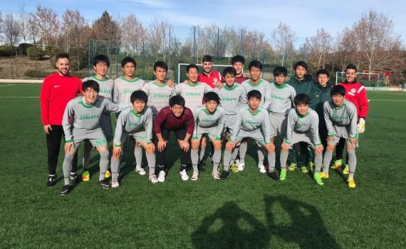 Equipo japones en Madrid