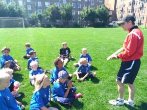 Así fue el Camp de Fútbol In Events en Copenhague