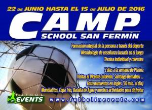 Info Camp School San Fermin